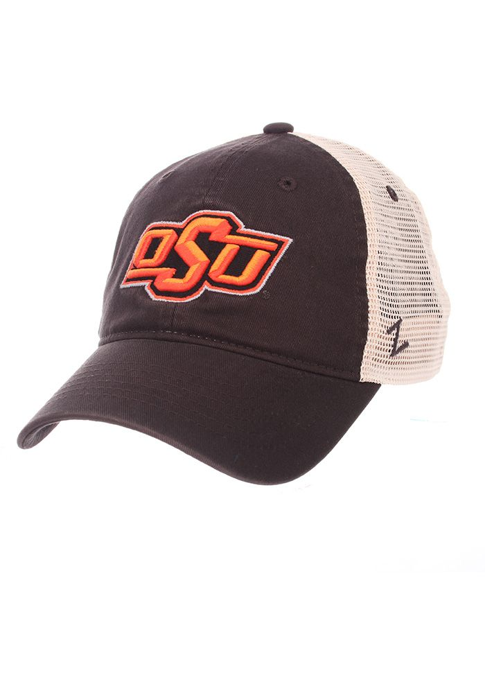 ac56304be1f Zephyr Oklahoma State Cowboys Mens Grey University Adjustable Hat ...