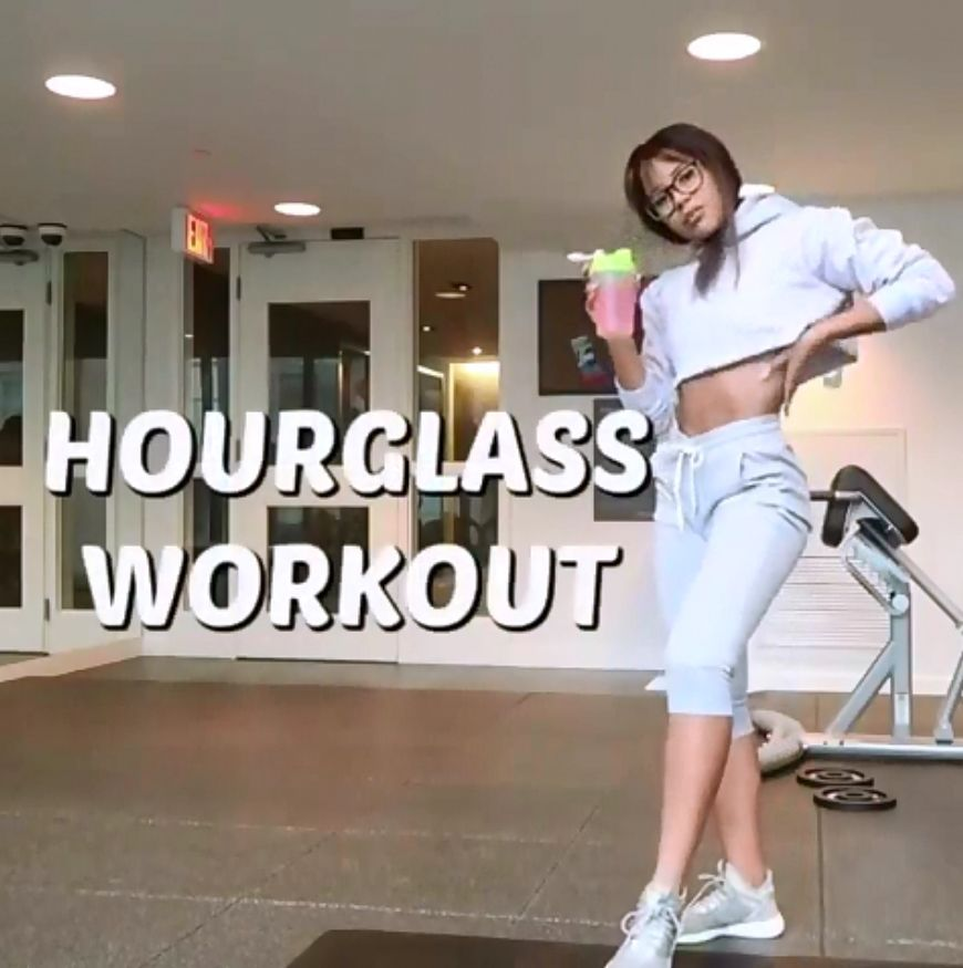 Hourglass workout! #workoutchallenge