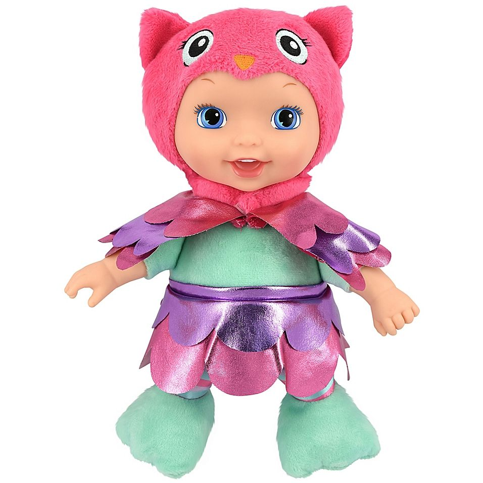 New Adventures Little Darlings Animal Cuties 11 Inch Baby Doll With Owl Outfit Baby Dolls Cute Baby Dolls Little Darlings