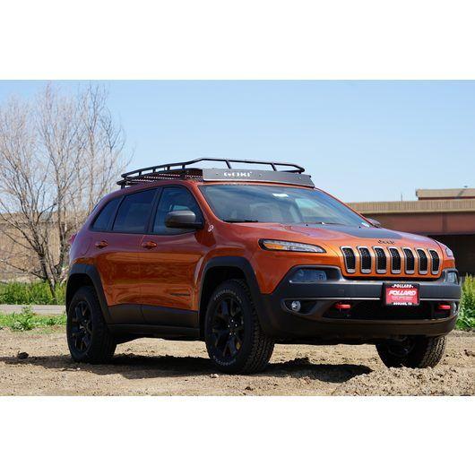 Jeep Cherokee Kl Stealth Rack Multi Light Setup Font Color Red