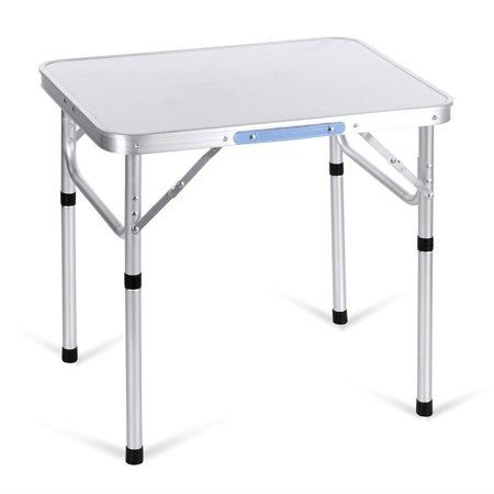 Superb Aluminum Adjustable Portable Folding Camp Table With Carry Pdpeps Interior Chair Design Pdpepsorg