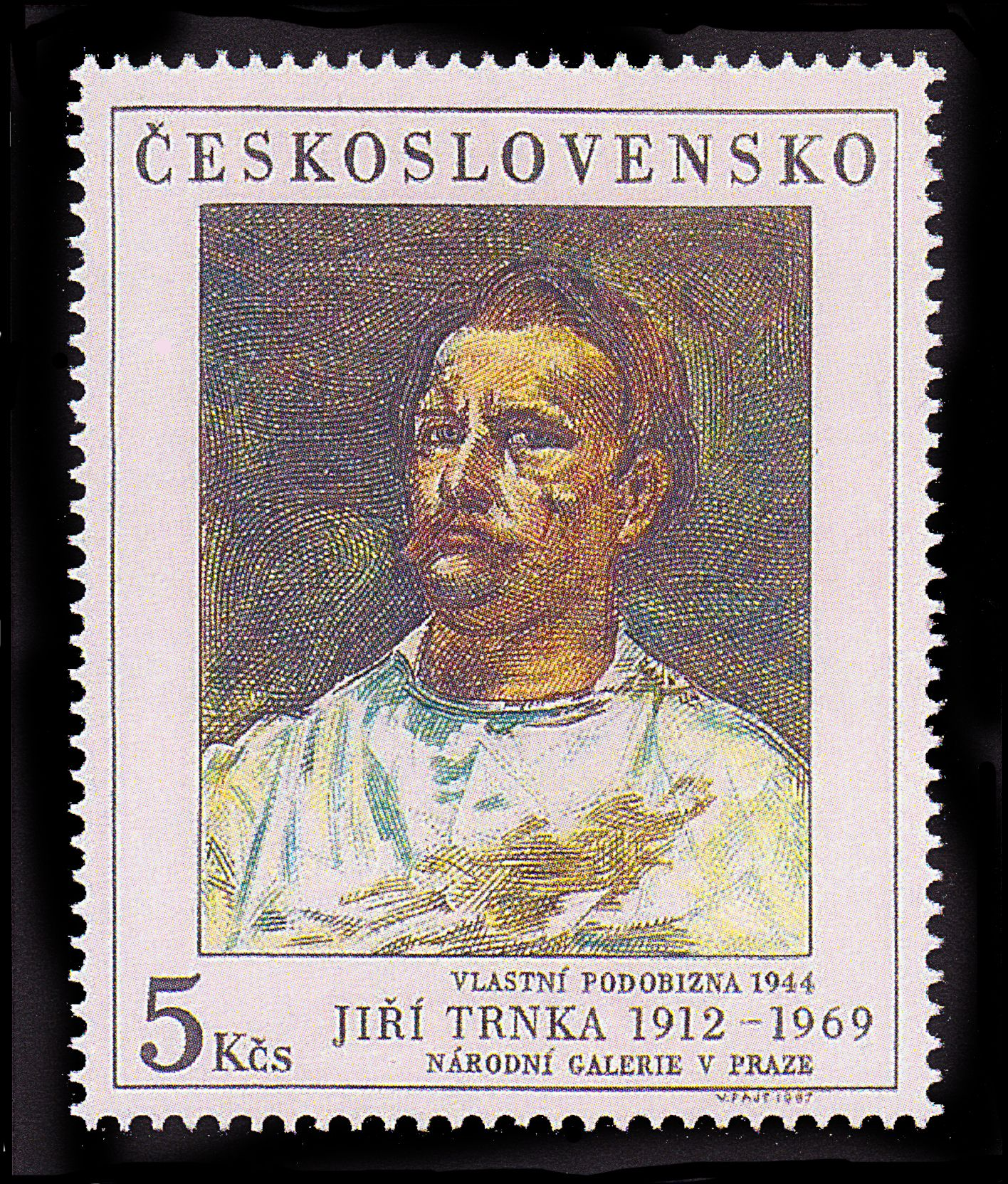 postage stamps | ... government relented and issued this postage stamp, honoring Trnka