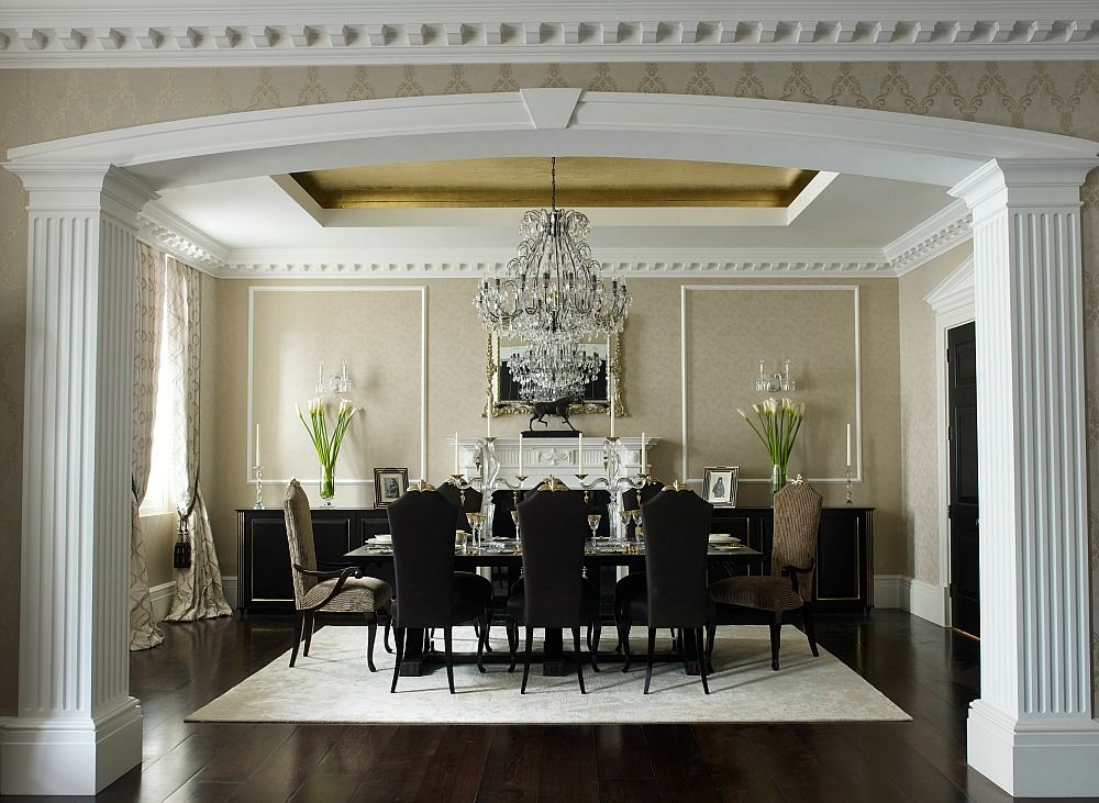 According To Luxury Interior Design Practice Oliver Burns There Is A Fusion Of Classical And