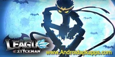 download league of stickman mod apk versi baru