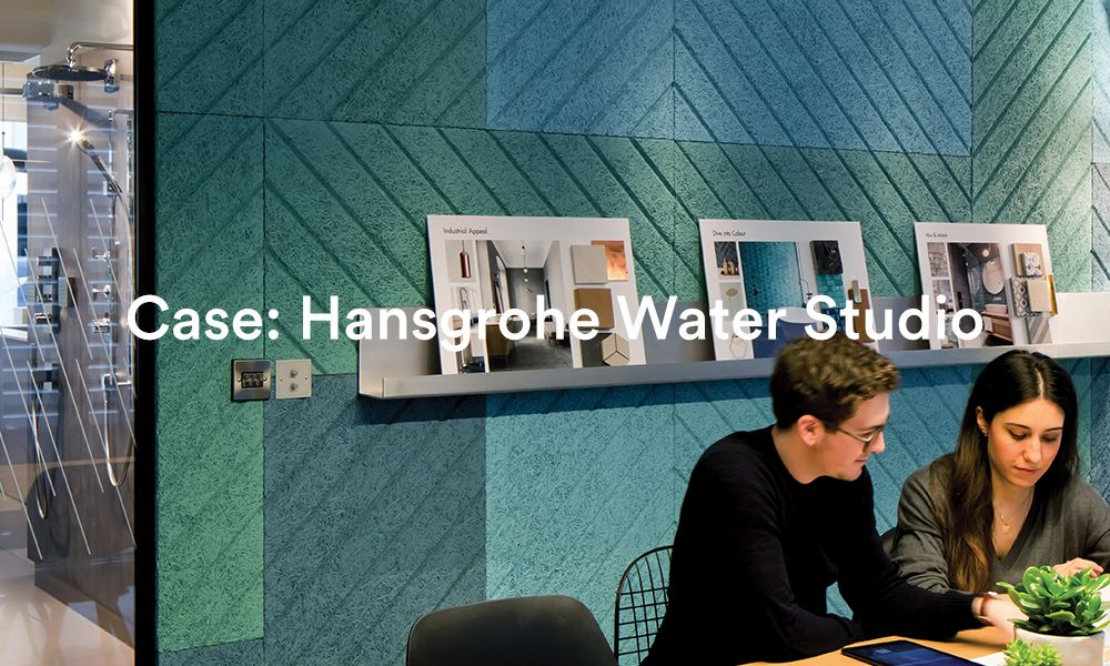 Hansgrohe Water Studio Acoustic BAUX case