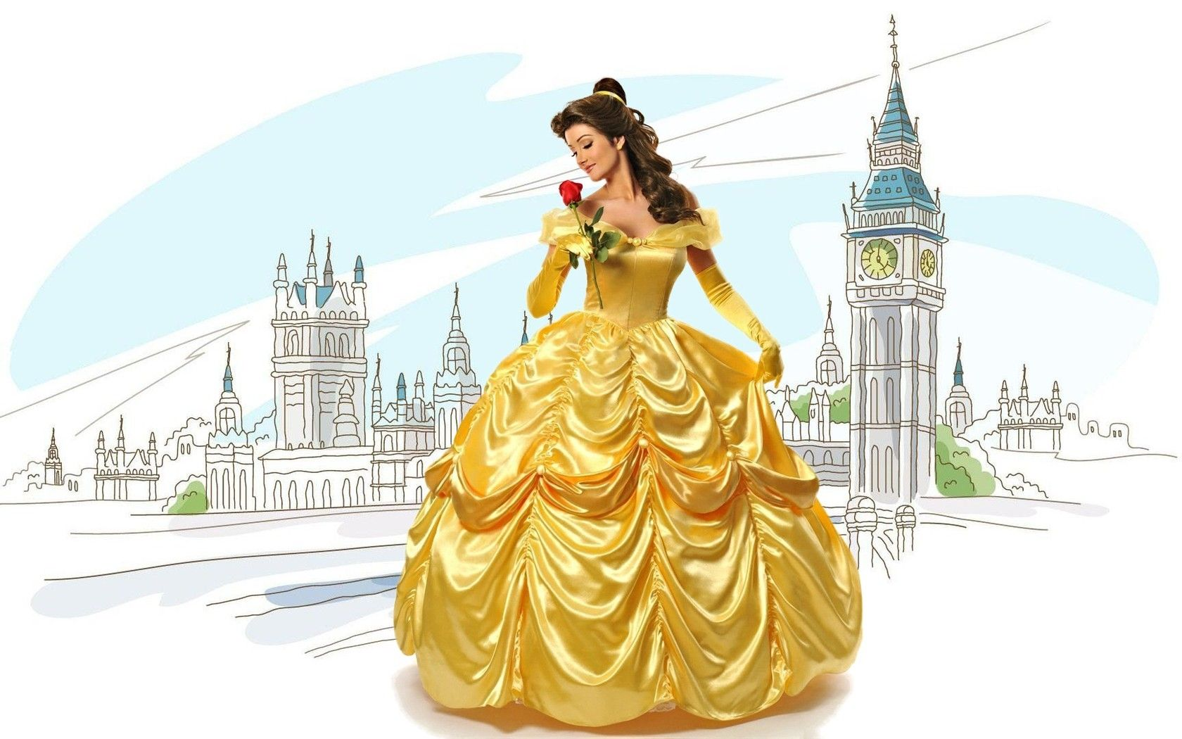 Belle at her quinceanera disney love pinterest belle belle at her quinceanera thecheapjerseys Choice Image
