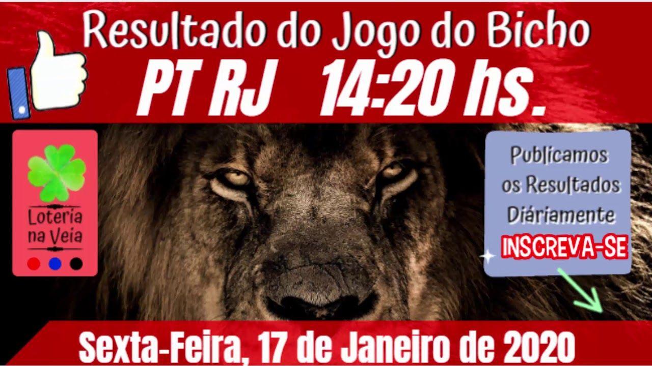 PT Rj 14 Hs Jogo do Bicho Resultado de sexta feira 17012020 em 2020 |  Resultado jogo, Jogo de bicho, Jogos