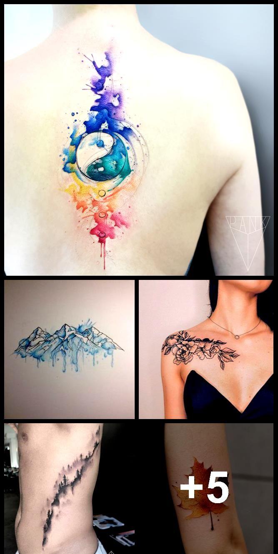Photo of Stunning Mountain Tattoo Designs#Blog #Designs #Mountain #Stunning #tattoo