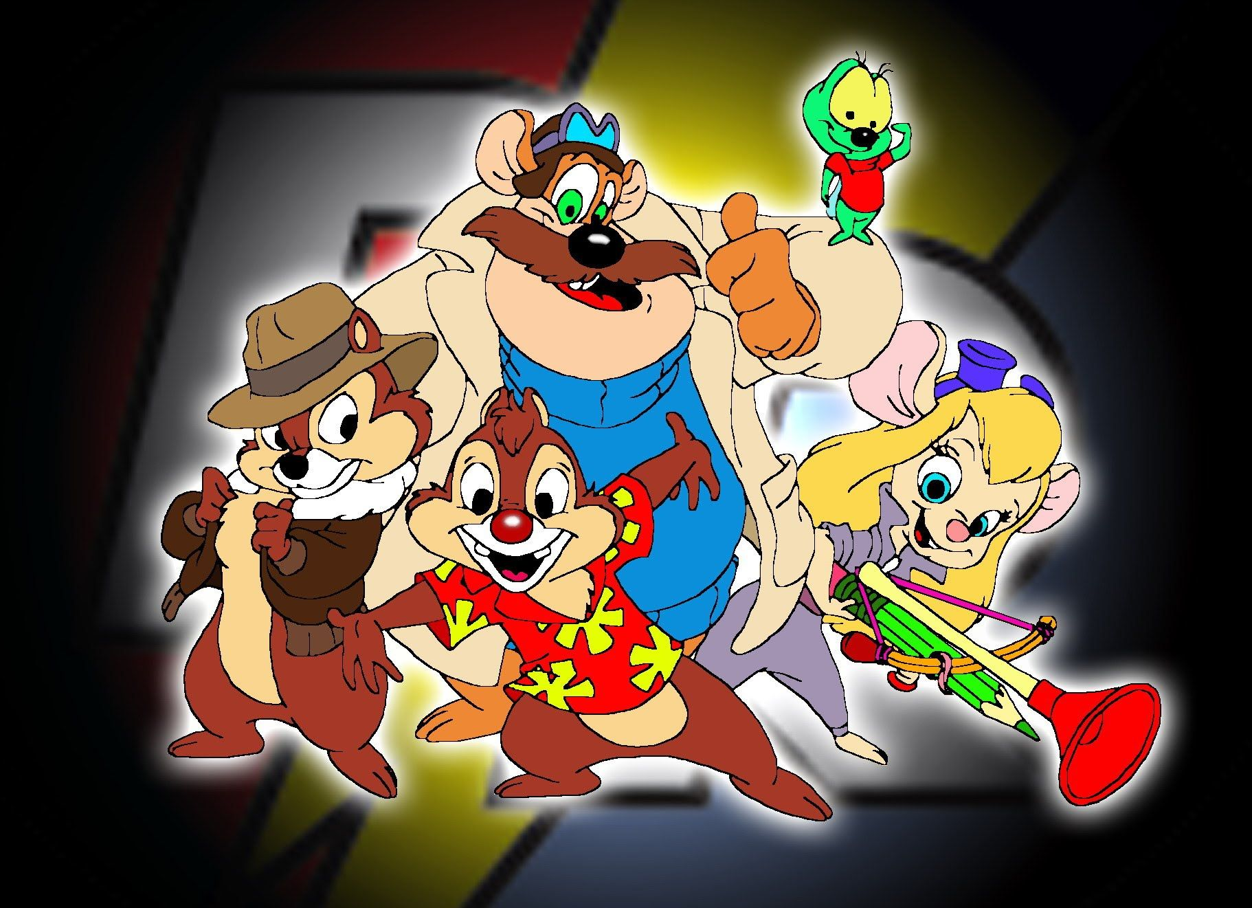 Cola cult chip and dale things i liked as a kid - Chip n dale wallpapers free download ...