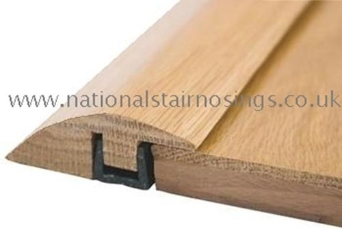 Solid Wood Hardwood Ramp Door Bar Threshold Strip For Different Level Flooring Floor Edging Flooring Transition Strips