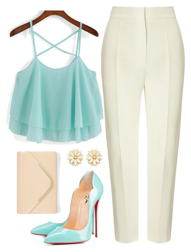 """Luana"" by alessandramongi ❤ liked on Polyvore featuring Vika Gazinskaya, Accessorize and Forever 21"