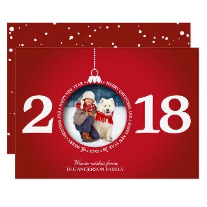 christmas card ideas 2018