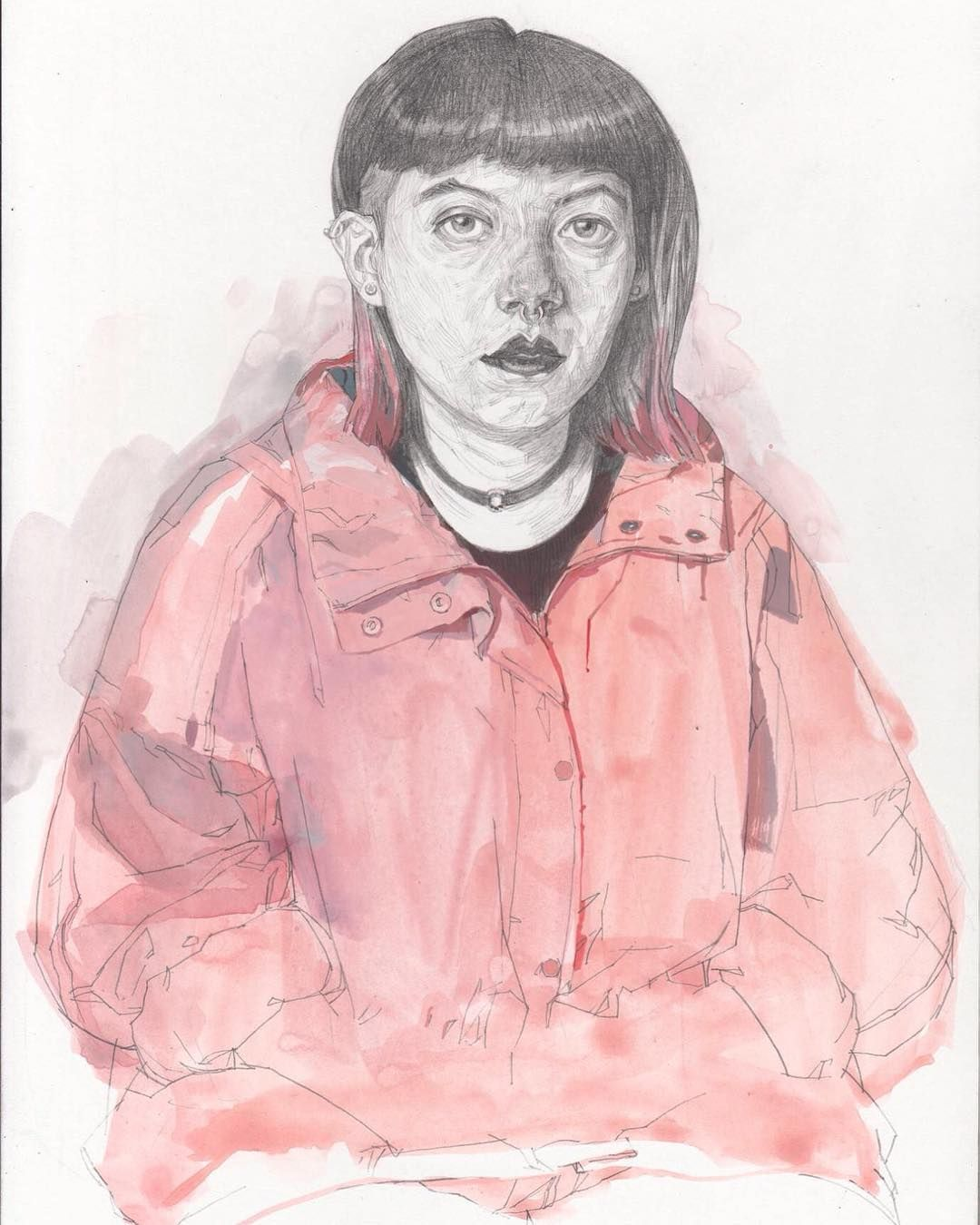 Finish kent williams portraiture drawing sea art
