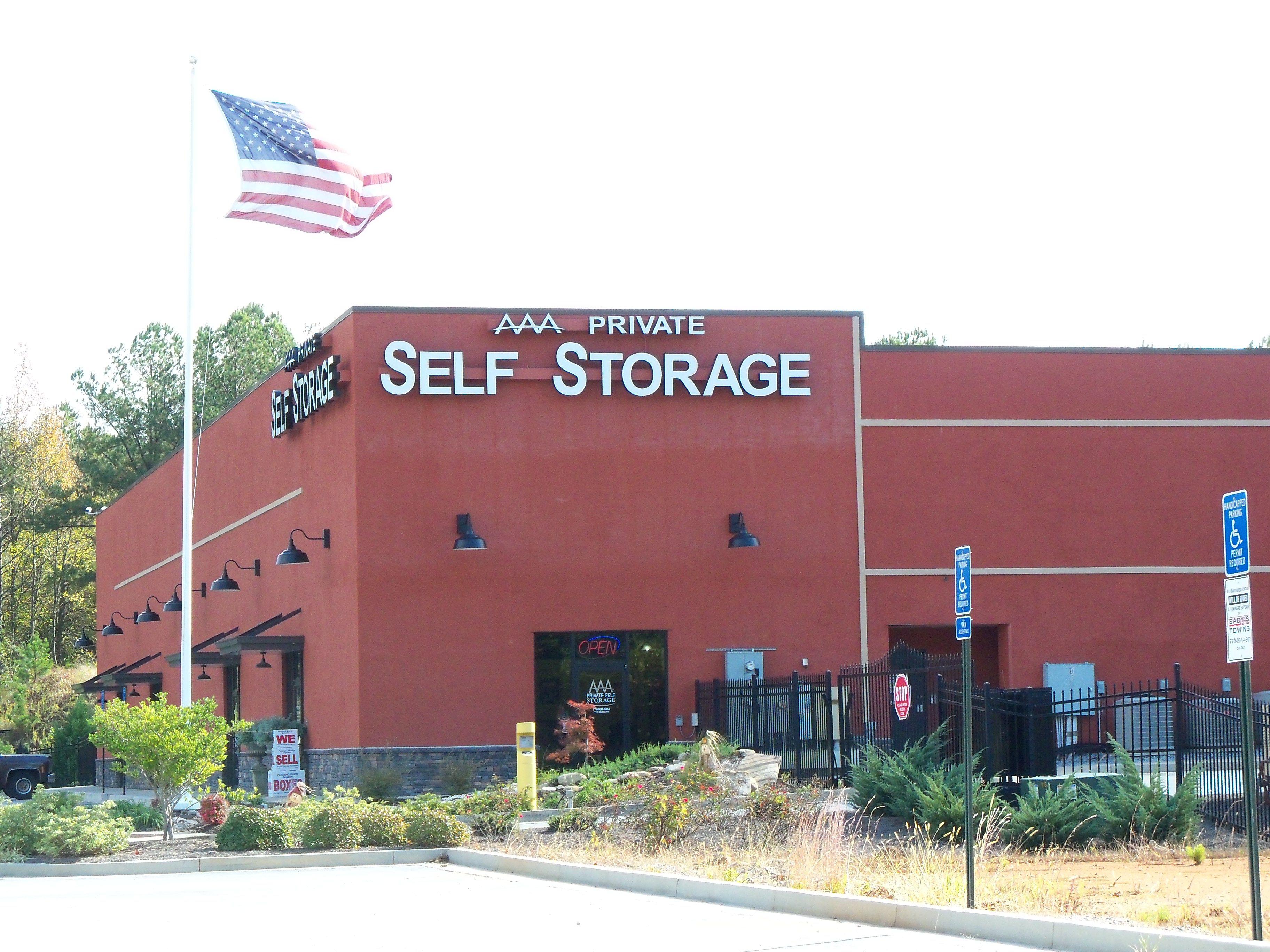 Aaa private self storage in carrollton ga self storage
