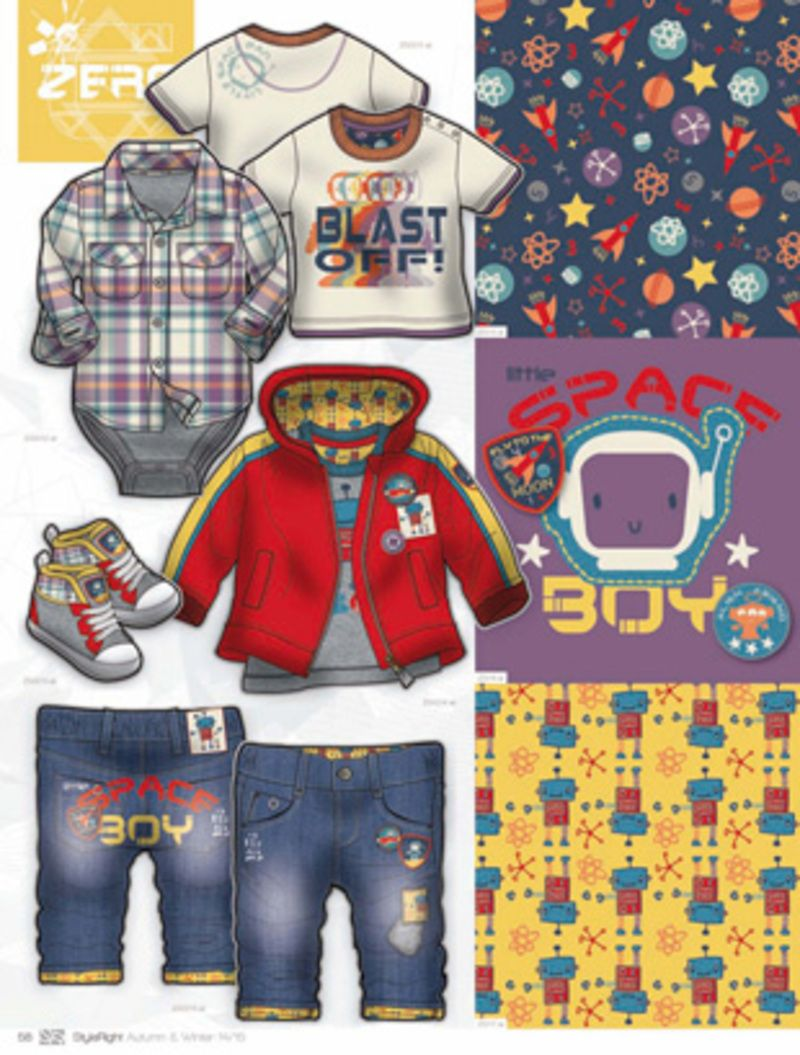 Style Right Babywear Trend Book - A/W 14/15 - Kidswear - Styling ...