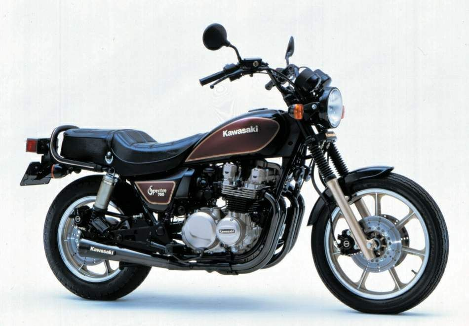 kawasaki z 750n spectre fast bike but not very comfortable on long trips for someone 6 39 or. Black Bedroom Furniture Sets. Home Design Ideas