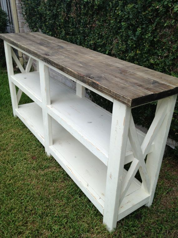 Sofa Table Media Console By ReclaimedYankee On Etsy