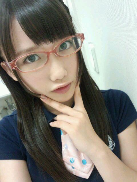 gabuken: 存在は知ってたけどこれはメガネっ娘アイドルNo.1かもしれん ...