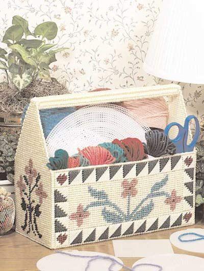 Crafter\'s Caddy - Plastic Canvas | Craft Ideas | Pinterest | Häkeln ...