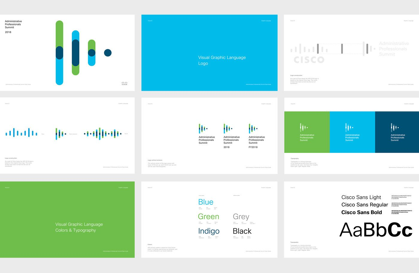Cisco APS 2018 on Behance (With images) Brand guidelines
