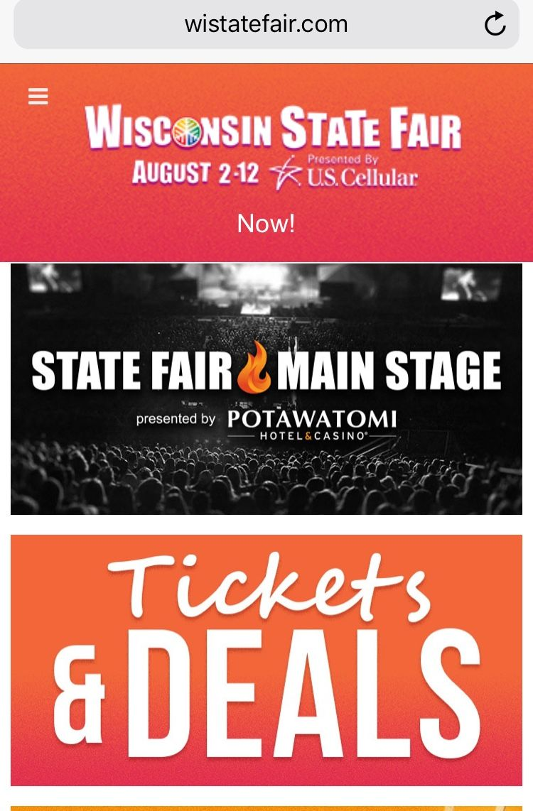 Wisconsin State Fair In August West Allis Wi 15 Min From Milwaukee Marquette Universi Wisconsin State Fair Family Friendly Activities Marquette University