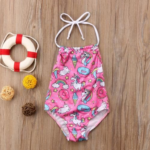 80cef90ec5 pink unicorn kids swim suit $10.47 Whether you're on vacation or she's  swimming at the local pool, she'll be ready in this swim suit.