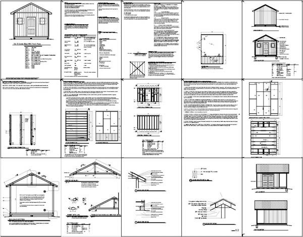 Shed Plans 12x16 Free : Construct Your Own Shed By Way Of