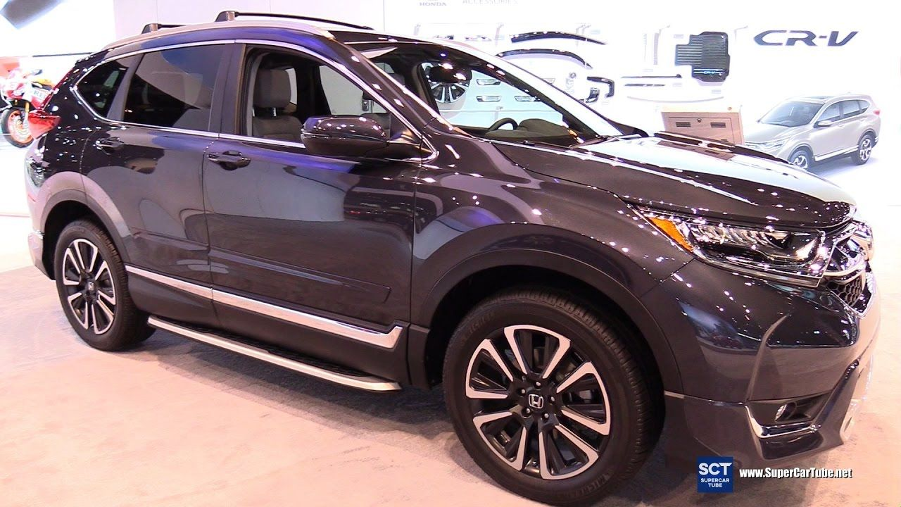 2017 Honda Cr V Touring Exterior And Interior Walkaround 2017