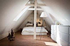 dachstuhl / schlafzimmer, Schlafzimmer design