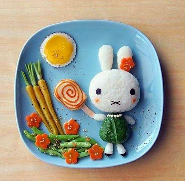 deco repas pour enfants id es d co id es pour faire manger quilibr vos enfants plat. Black Bedroom Furniture Sets. Home Design Ideas