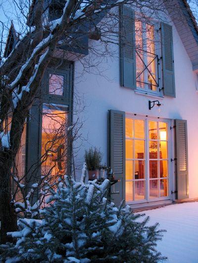 Endlich Schnee Franzosischer Balkon Pinterest Haus Haus