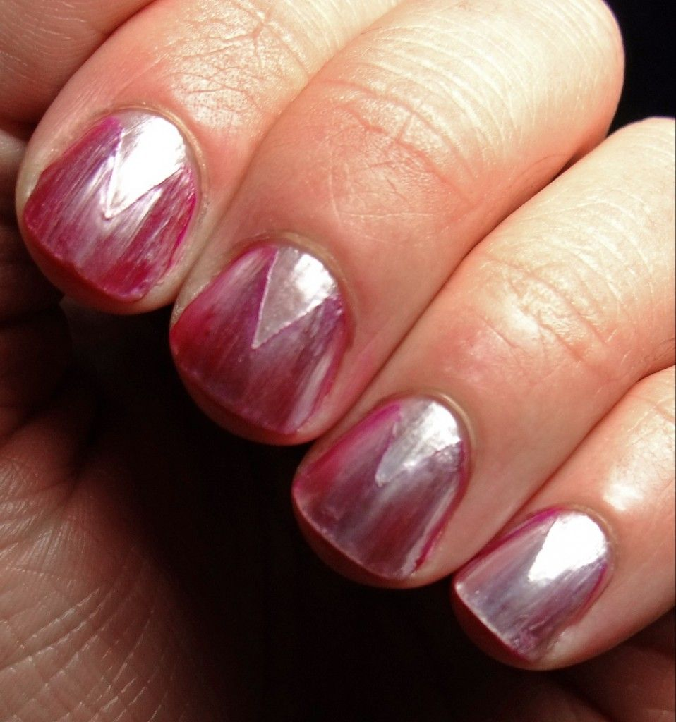 Reverse French Manicure | nails | Pinterest | Reverse french ...