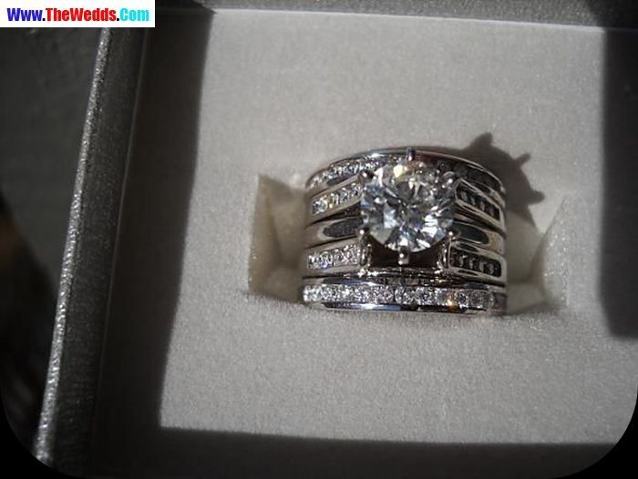 Round Diamond Wendy Williams Wedding Ring