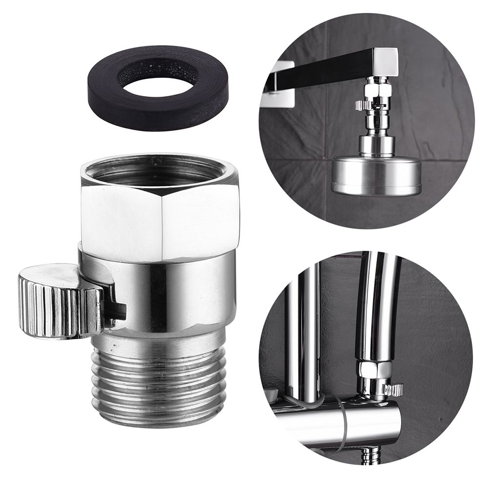 Shut Off Folw Control Valver For Shower Head Shower Arm Shower
