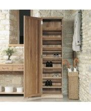 our best selling mobel oak shoe cupboards have new visual make a statement in your hallway with the mobel oak tall shoe cupboard