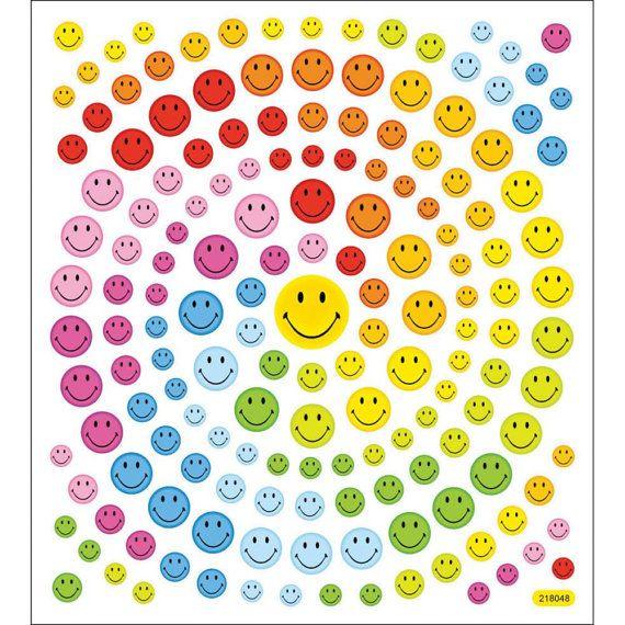 Happy Face Glitter Stickers Great For Decorating By Iluvdesign 1 85 Face Stickers Glitter Stickers Smiley Emoji