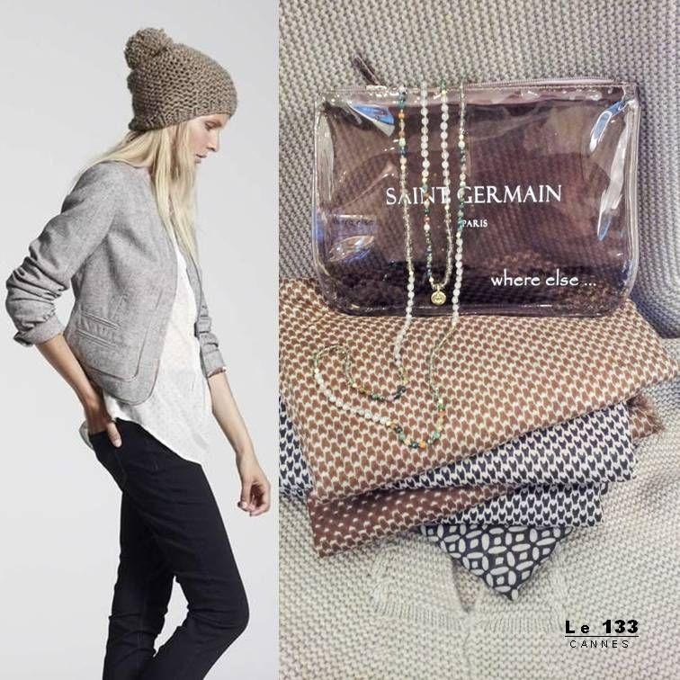 Boutique #le133  collection hiver 2015 accessoires de mode pochette #saintgermain #PARIS de #WHEREELSE en vente au 133 rue d 'antibes #CANNES