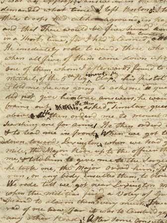 Paul Revere S Letter To Jeremy Belknap