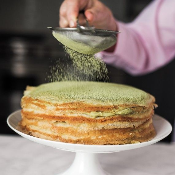Crepe Cake Pointers Amp Tips From Martha Crepe Cake Green