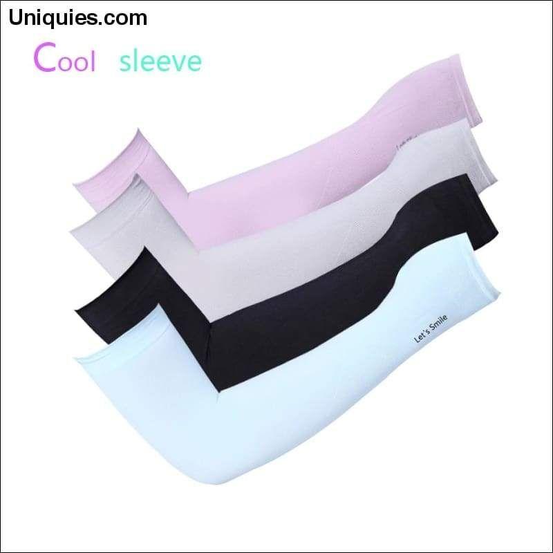 1 Pair UV Protection Cooling//Warmer Sunblock Arm Sleeves for Men Women Kids