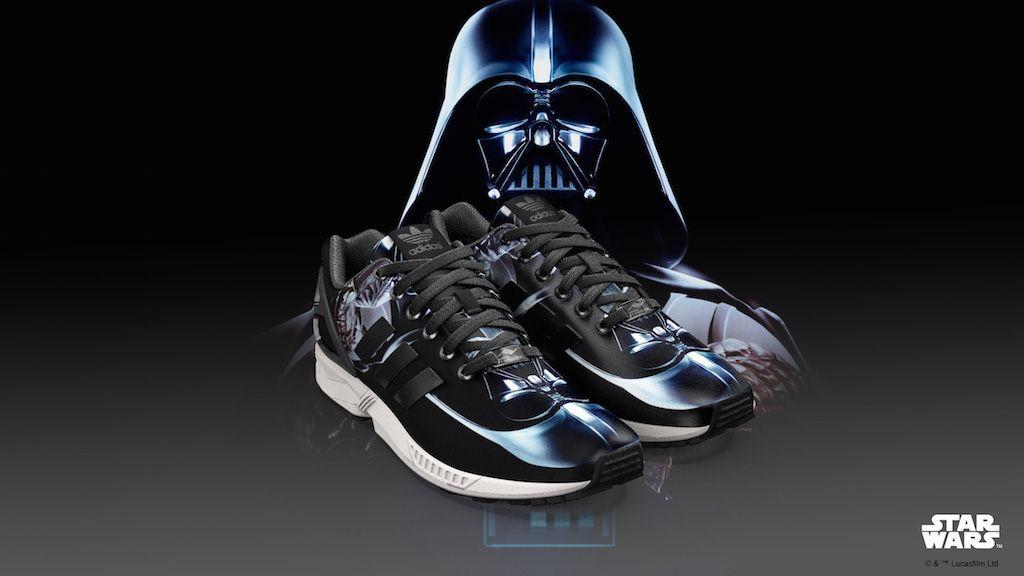 adidas originals mi zx flux print star wars