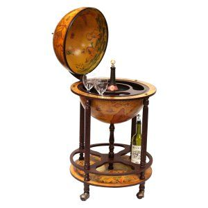 Floor Globe Bar   Perfect For A Gift Or For Your Own Home Or Office, The  Firenze Italian Style Diam. Floor Globe Bar Provides Elegant And Efficient  Storage.