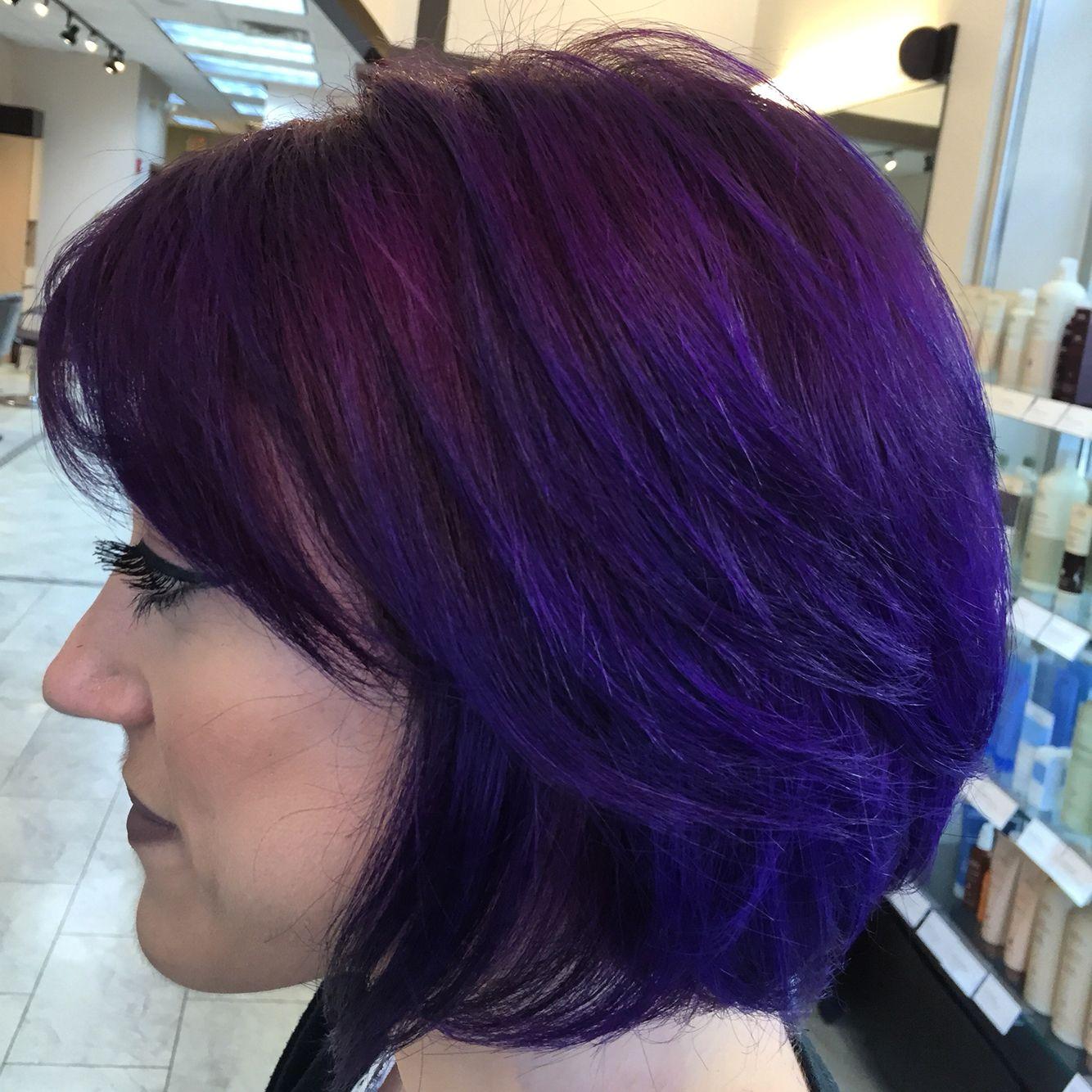 Hair By Ashley Spadano Purple Hair