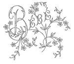 Broderie D'Antan: Embroidery Patterns (22 designs)