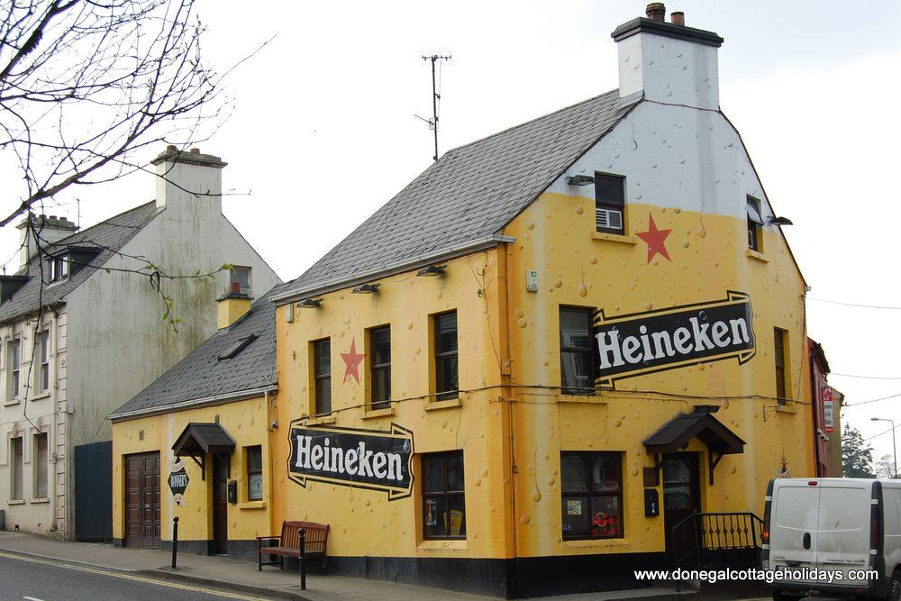 Heineken pub - Ballybofey - Donegal