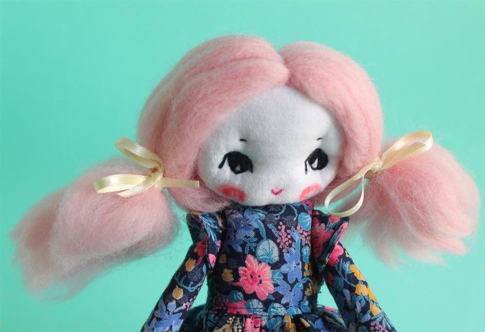 Petite Primerose ooak poupée d'art : Autres art par confiture-de-poeme