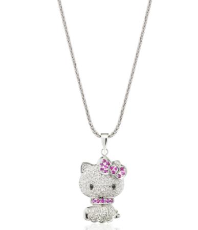 Sugar plum hello kitty pendant jewellery pinterest hello kitty sugar plum hello kitty pendant aloadofball Gallery