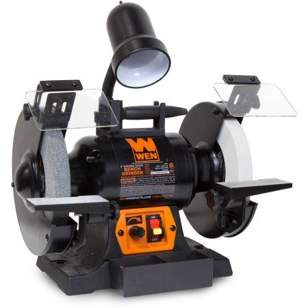 Astounding Wen 5 Amp 8 Inch Variable Speed Bench Grinder With Work Alphanode Cool Chair Designs And Ideas Alphanodeonline