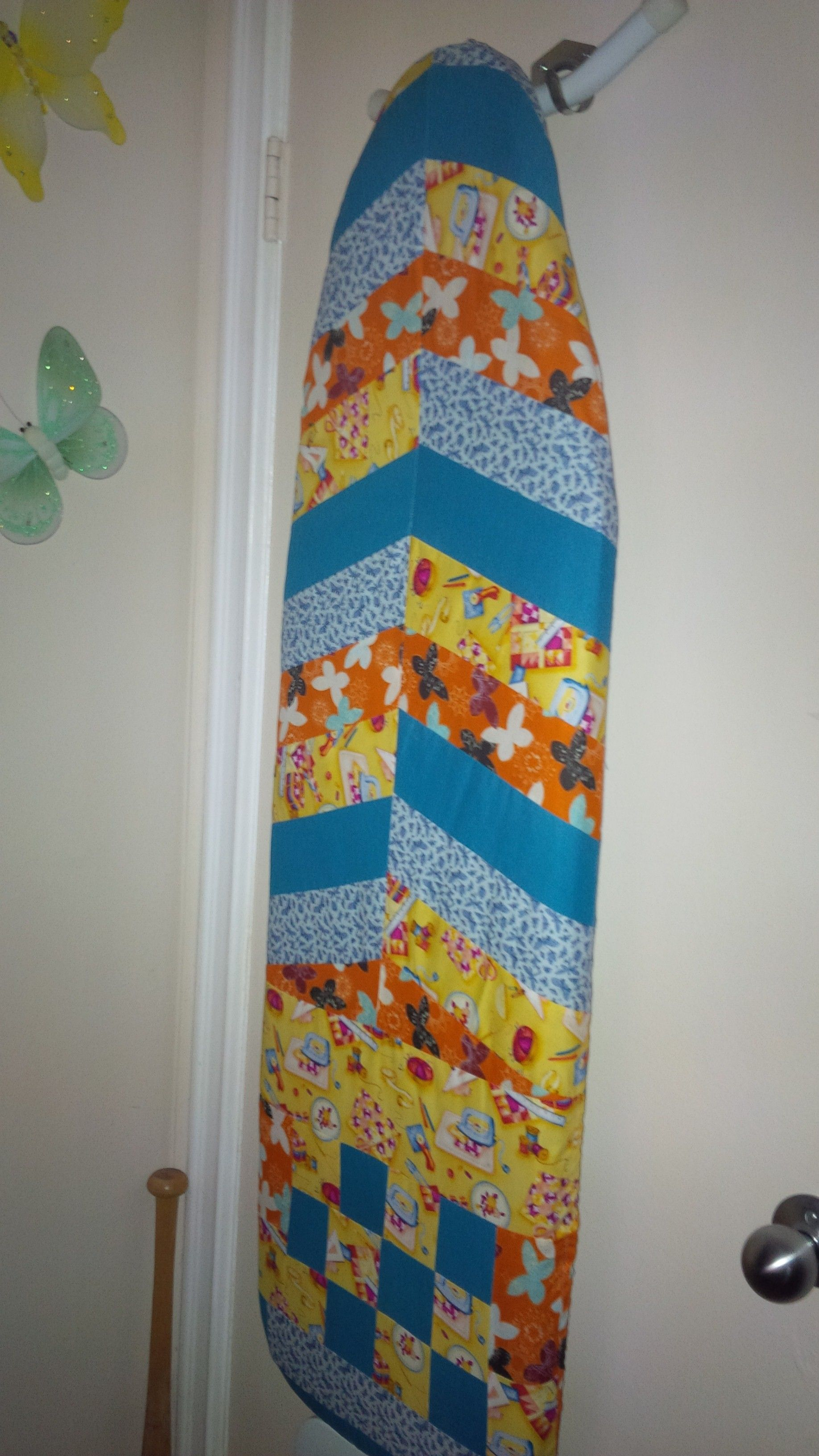 Quilted ironing board cover | My finished projects | Pinterest ... : quilted ironing board cover - Adamdwight.com