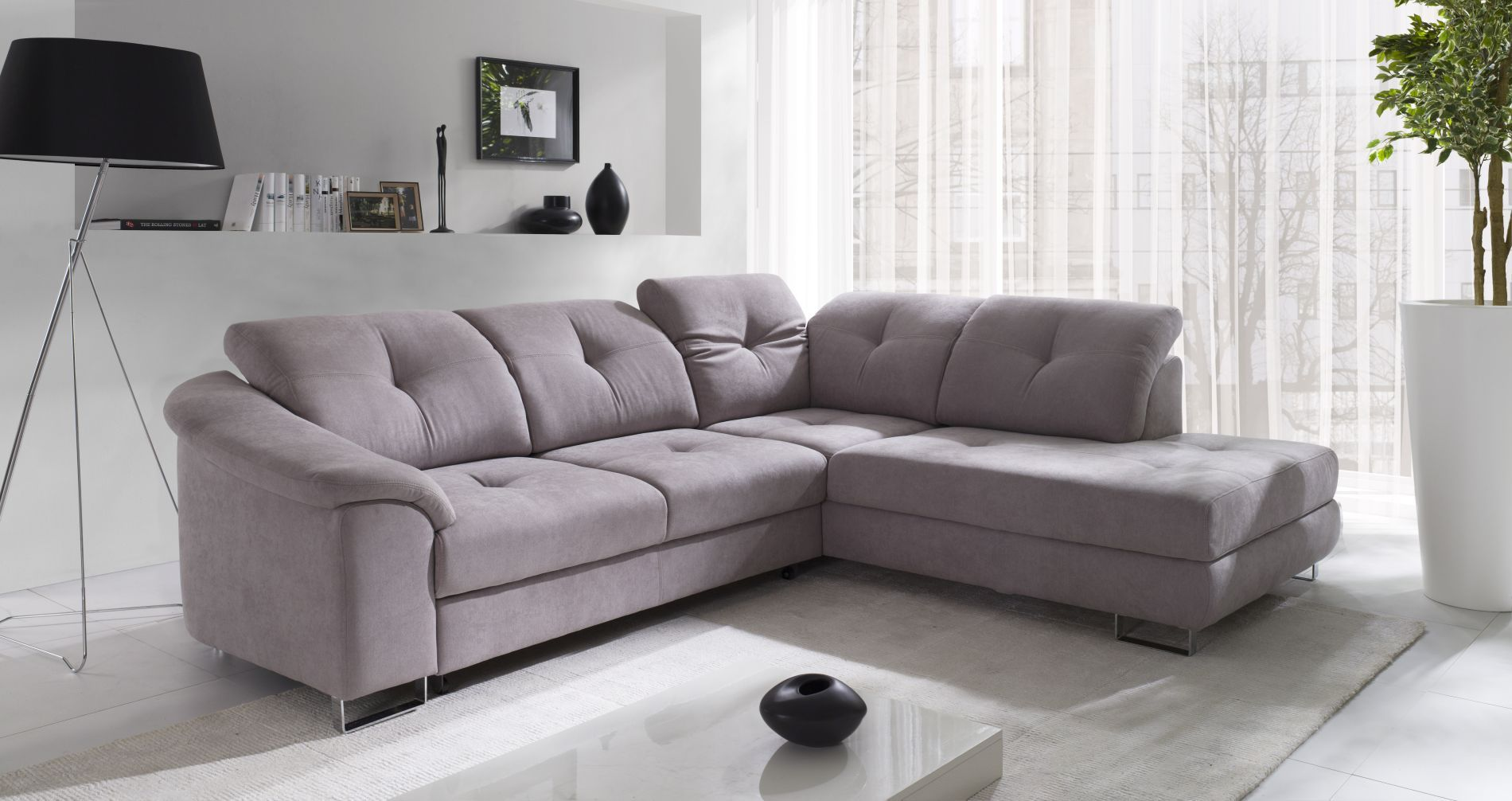 Salon Beige Coltar Nobilia New Home Sofa Corner Sofa Sofa Bed